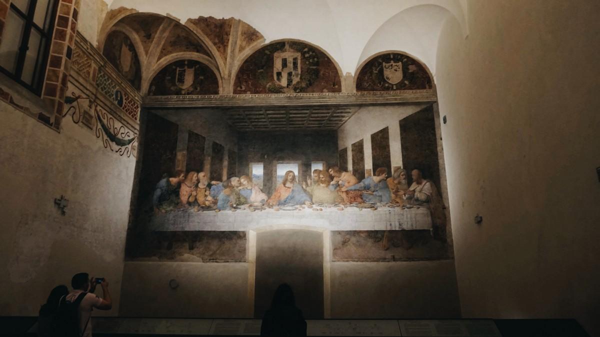 Ostatnia Wieczerza Leonardo da Vinci w Mediolanie