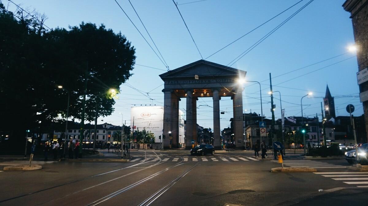 Porta Cinese w Mediolanie