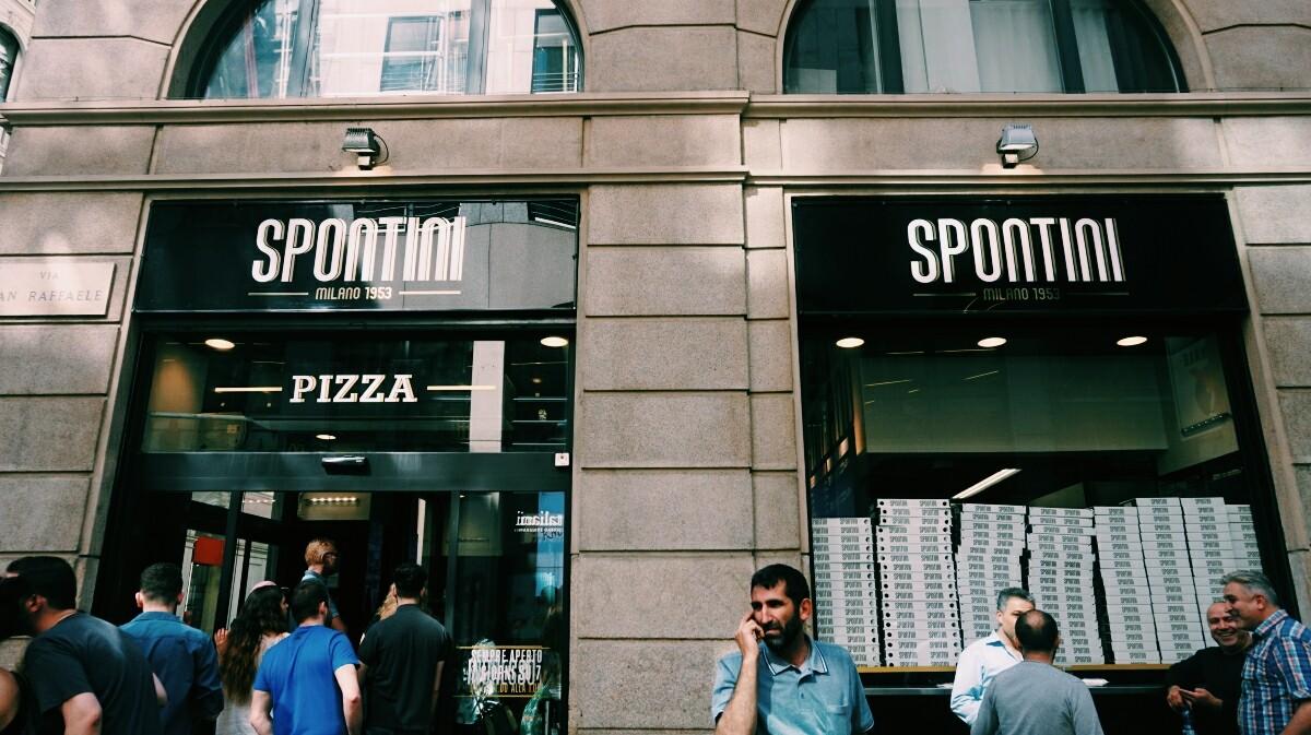 Pizzeria Spontini w Mediolanie