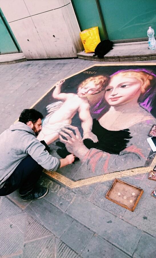 Piza street-art