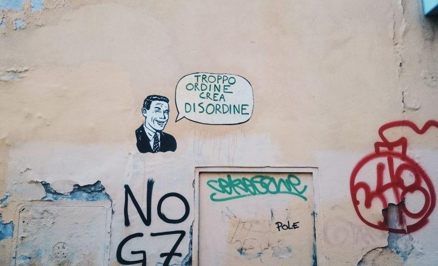 Street-art w Pizie