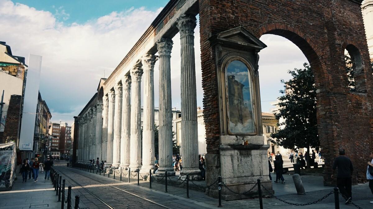 Colonna di San Lorenzo in Milan