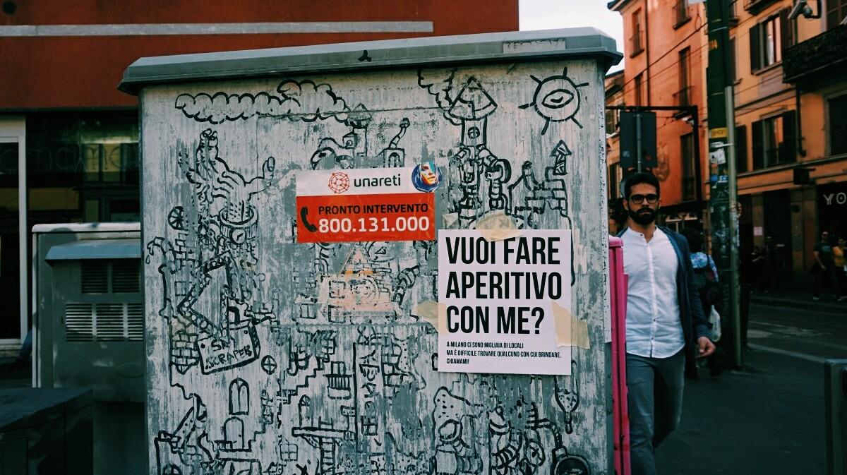 Aperitivo in Milan