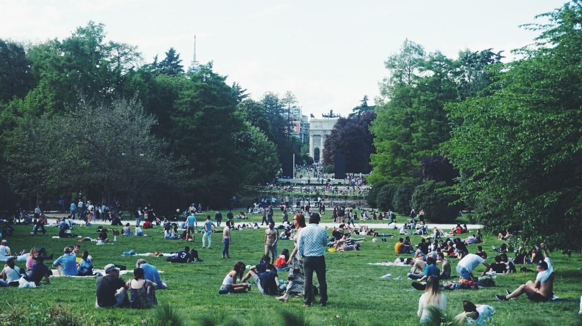 Park Sempione in Milan