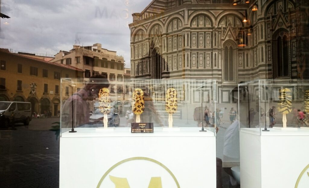 Magnum Store in Florence, close to Duomo