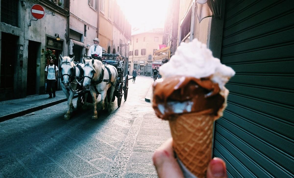 Lody we Włoszech