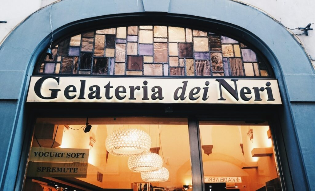 Gelateria dei Neri - best gelateria in Florence