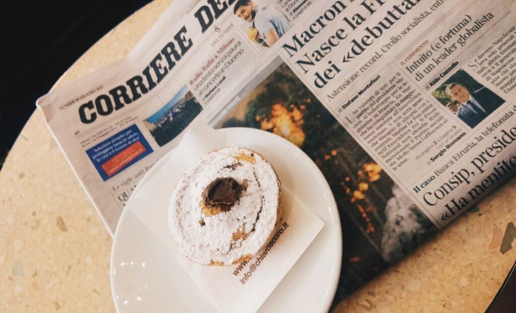 Włoskie śniadanie w Chiaroscuro we Florencji
