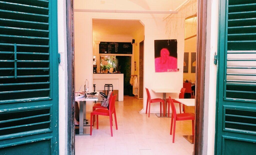 Caffe Libri Liberi in Florence