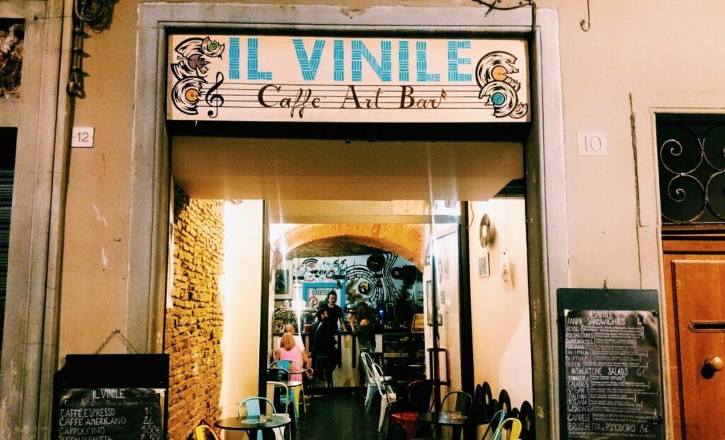 Kawiarnia Il Vinile we Florencji