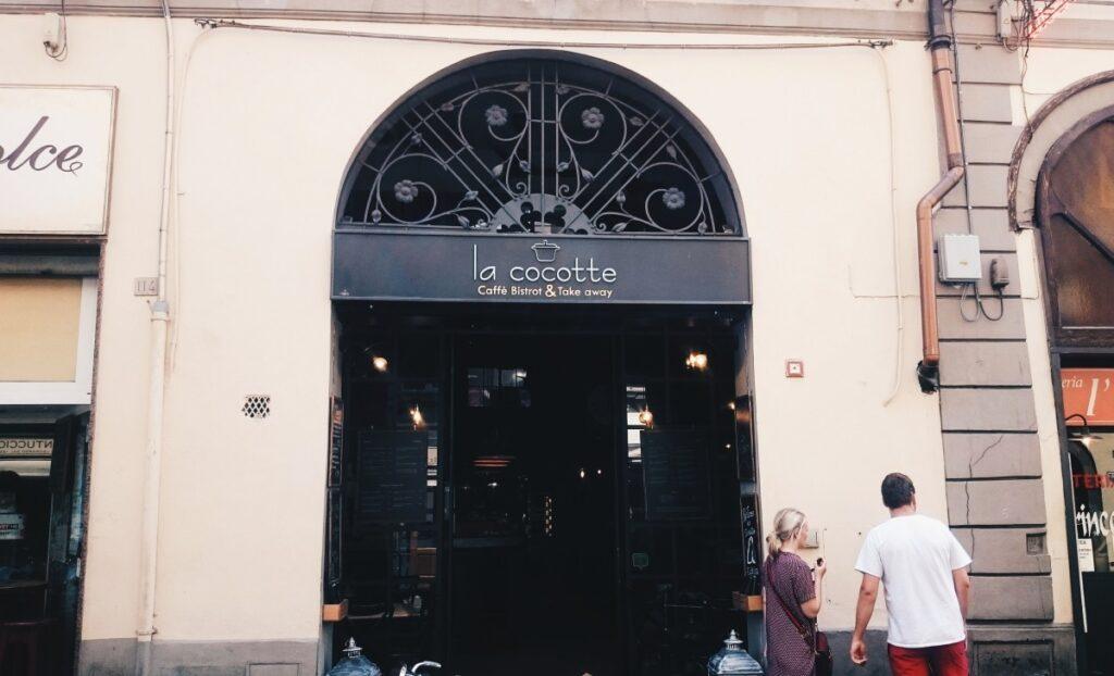 Kawiarnia La Cocotte we Florencji
