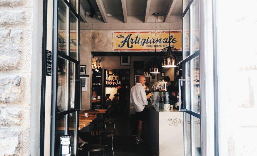 Kawiarnia Ditta artigianale we Florencji