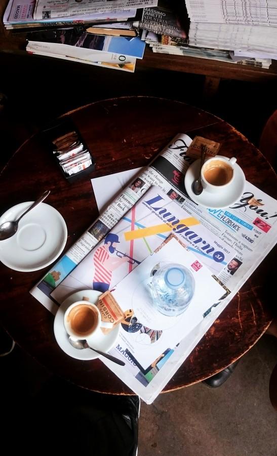 Kawa w kawiarnii Volume we Florencji