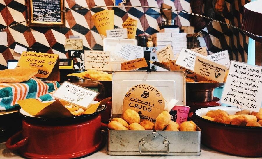 Il Coccolo Fritti e Cornetti in Florence - food
