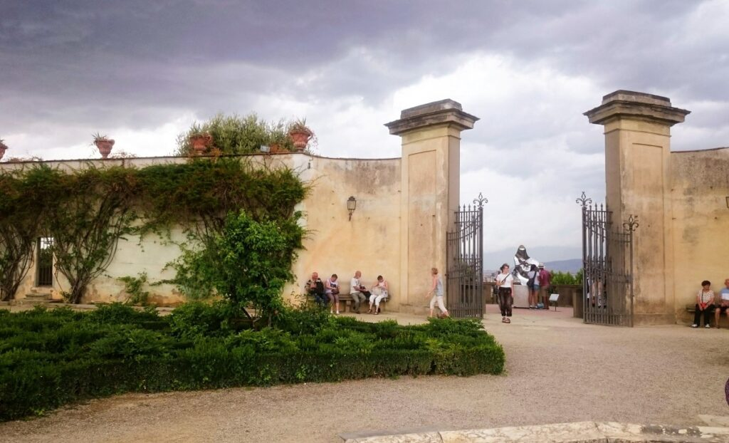 Gate in the Boboli Gardens in Florence