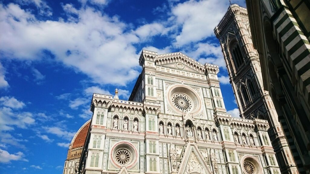 The photo of Duomo in Florence,, Italy