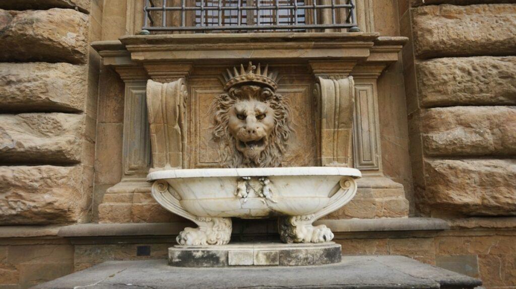 palazzo pitti we florencji