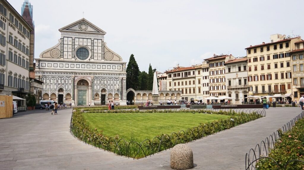 Church Santa Maria Novella in Florence