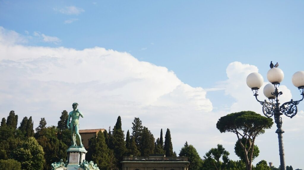 Beautiful Piazzale Michelangelo in Florence