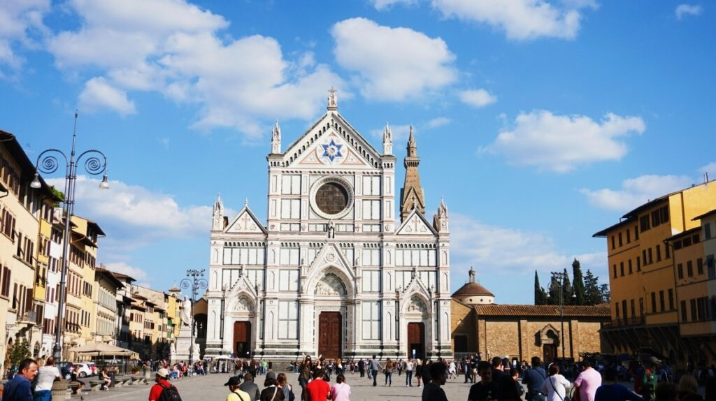 Church in Santa Croce in Florence