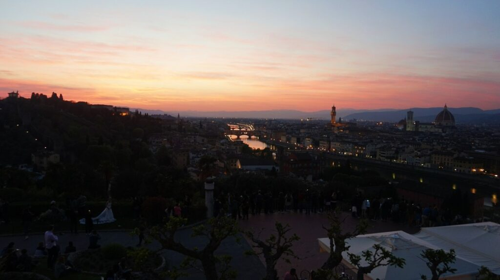 View of the Florence from Piazzale Michelangelo