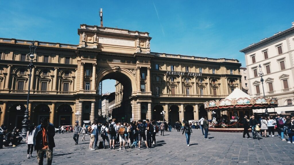 Piazza della Repubblica we Florencji