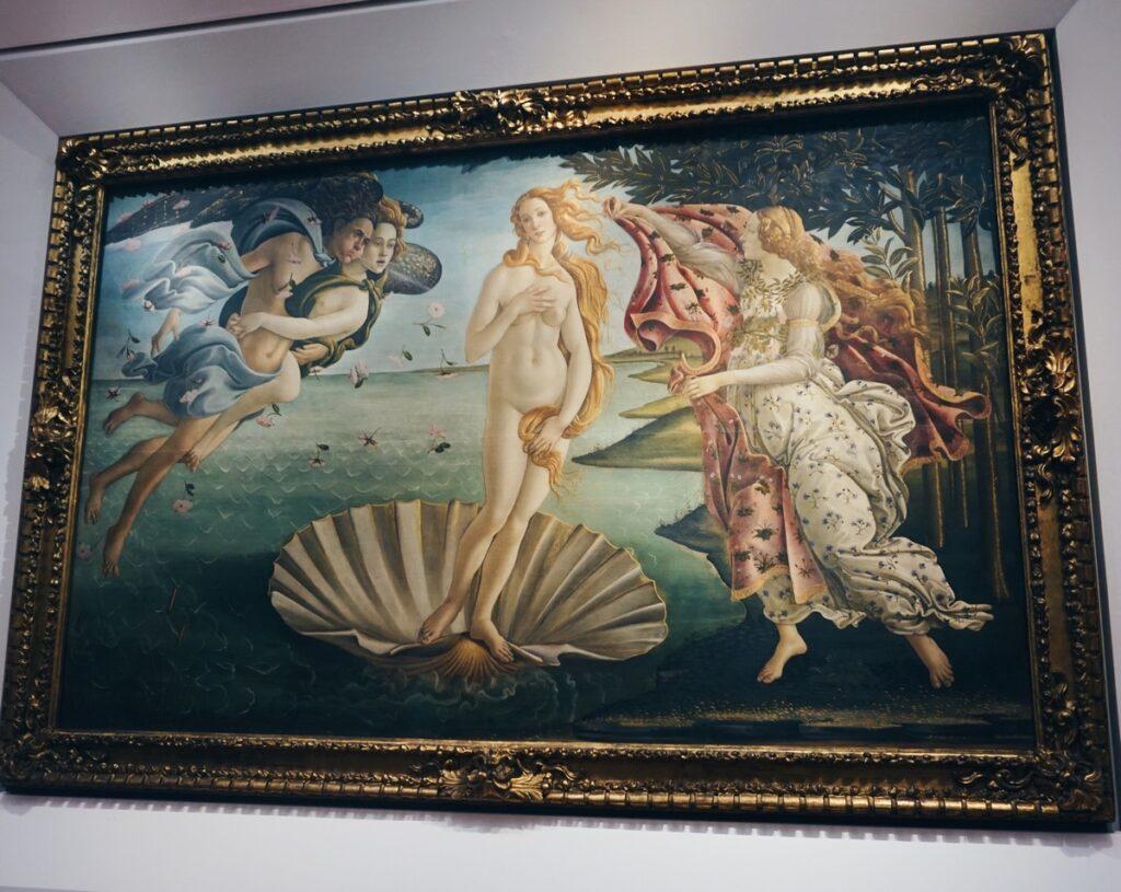 """Obraz """"Narodziny Wenus"""" Botticellego"""