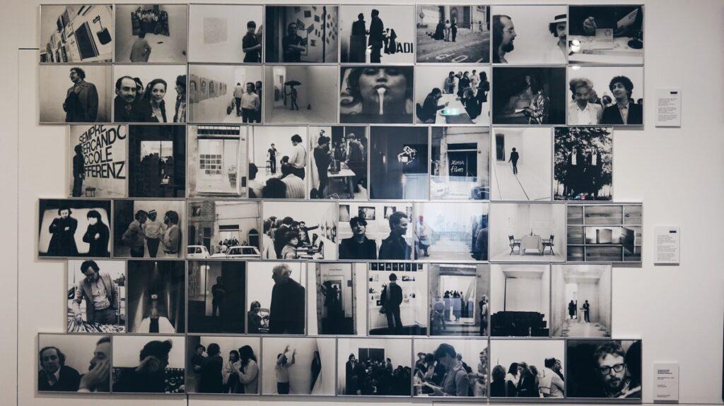 Zdjęcia w Muzeum Novecento we Florencji