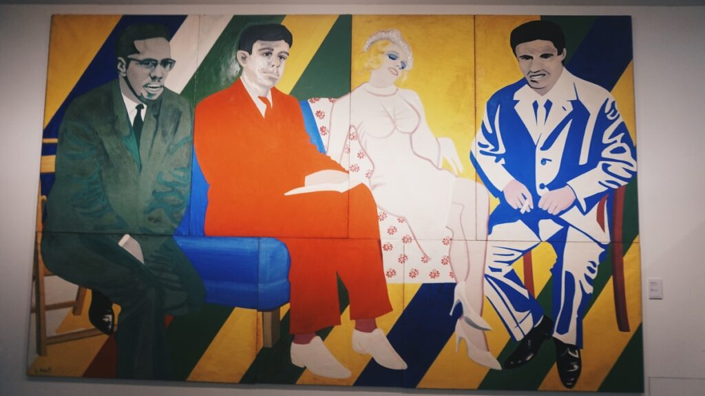 Obraz w Muzeum Novecento we Florencji