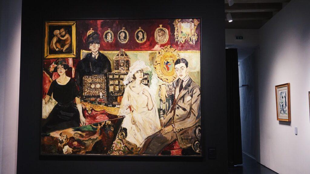 Obraz w Muzeum Novecento we Florencji, sztuka nowoczesna