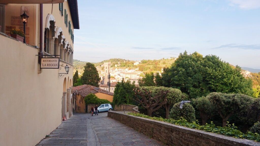 Fiesole - a tuscan city
