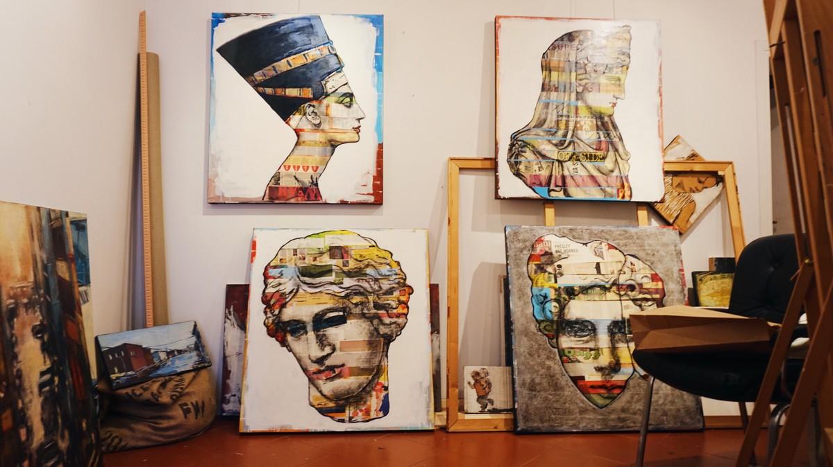 Pracownia street-artowej artystki Carli Bruttini