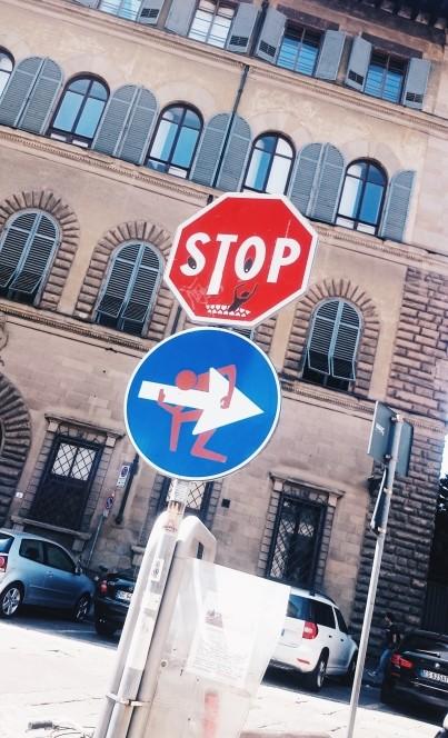 Clet we Florencji