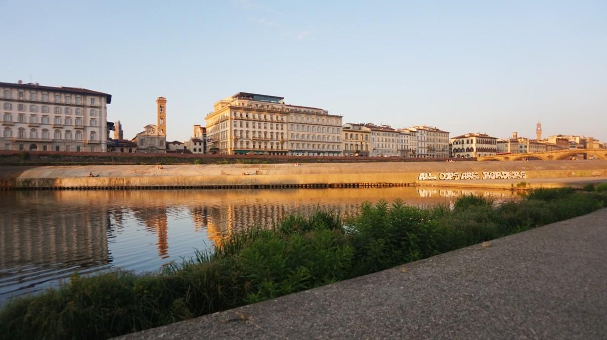 Rzeka Arno we Florencji
