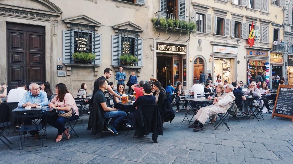Kawiarnia we Florencji
