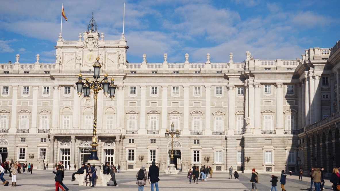 Internship in Madrid, Palace Royal