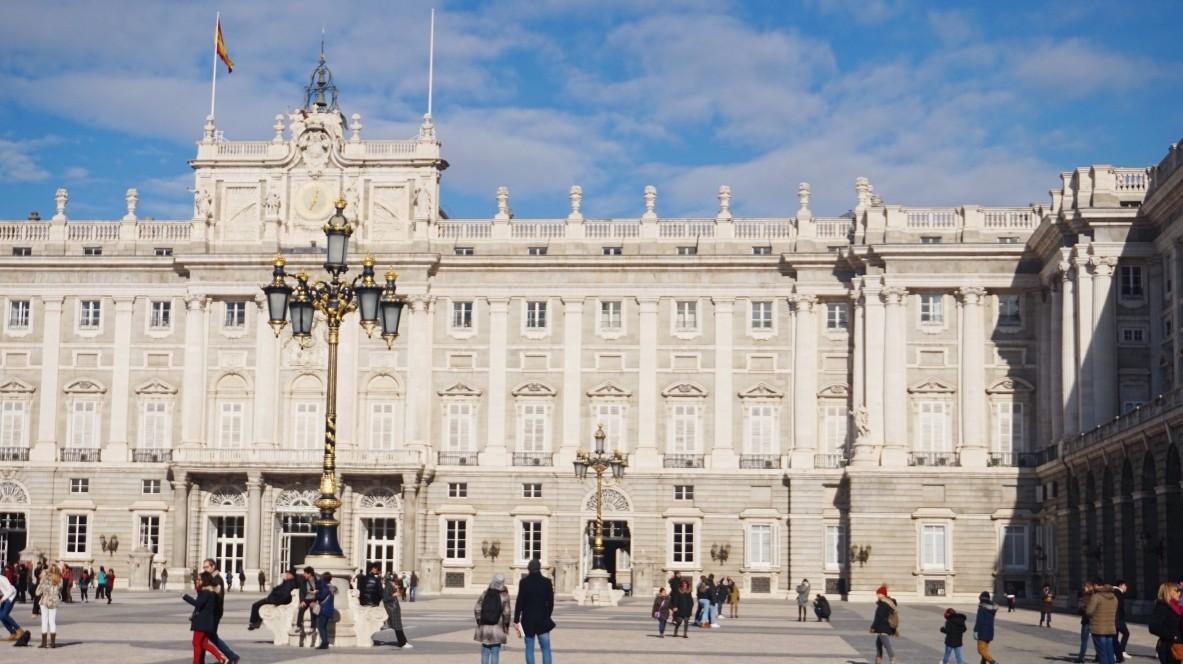 Praktyki Erazmus w Madrycie, Pałac Królewski