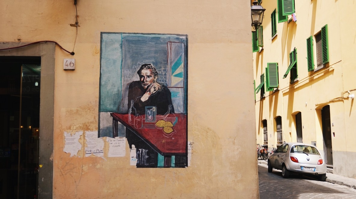 Street-art in Florence