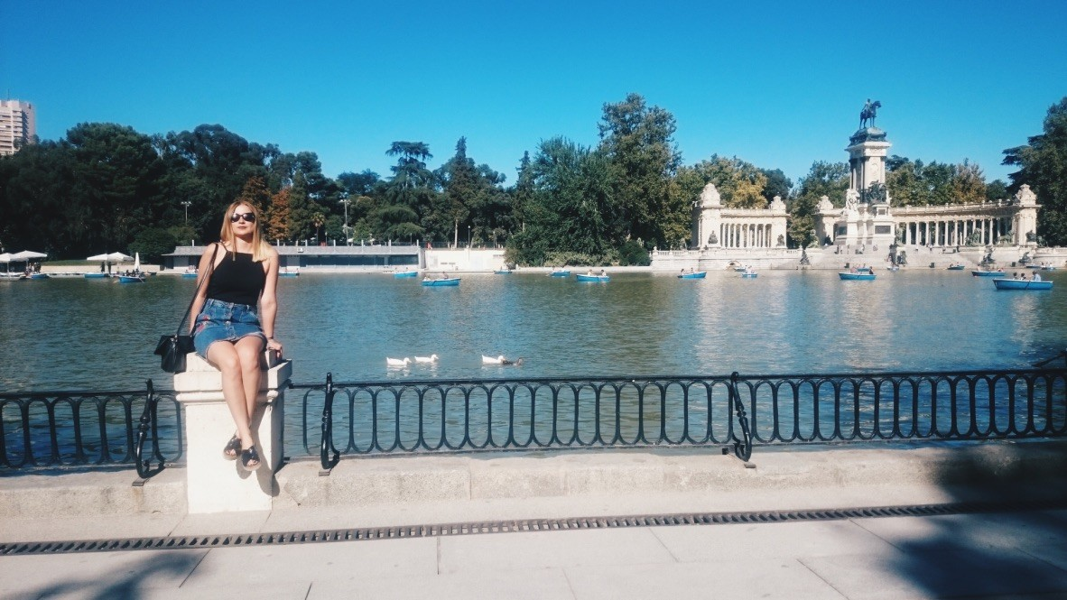 Madrid, Internship, Retiro Park