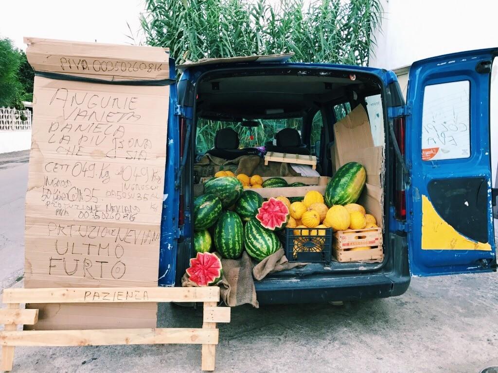Fruits in Apulia