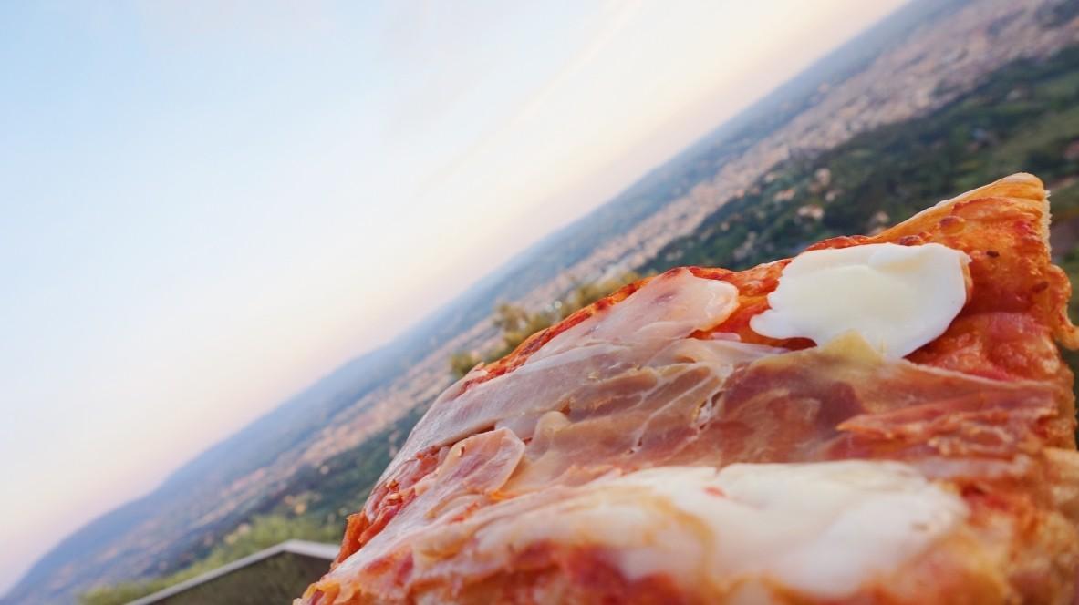 Pizza in Fiesole