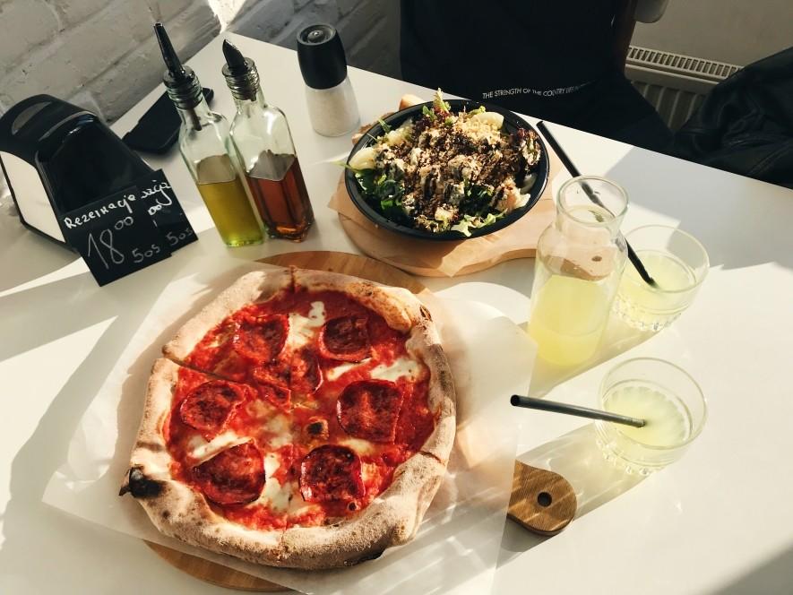 Pizza w Czerwonym Piecu w Gdyni