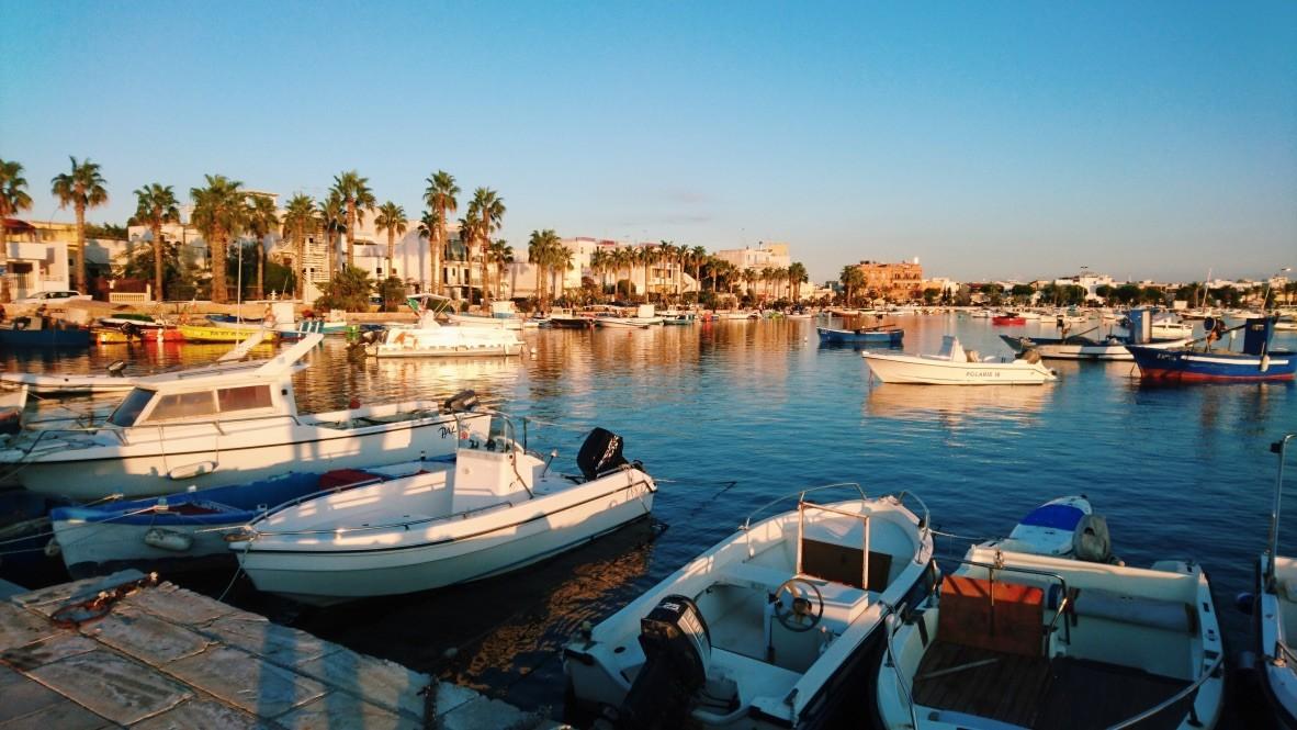 Porto Cesareo in Puglia