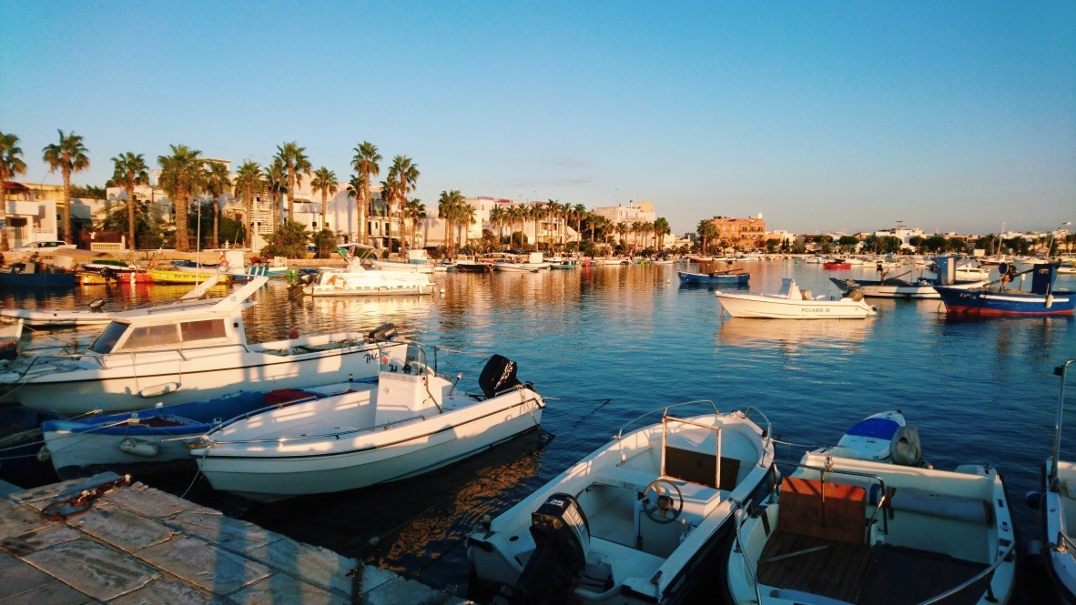 Porto Cesareo w Apulii