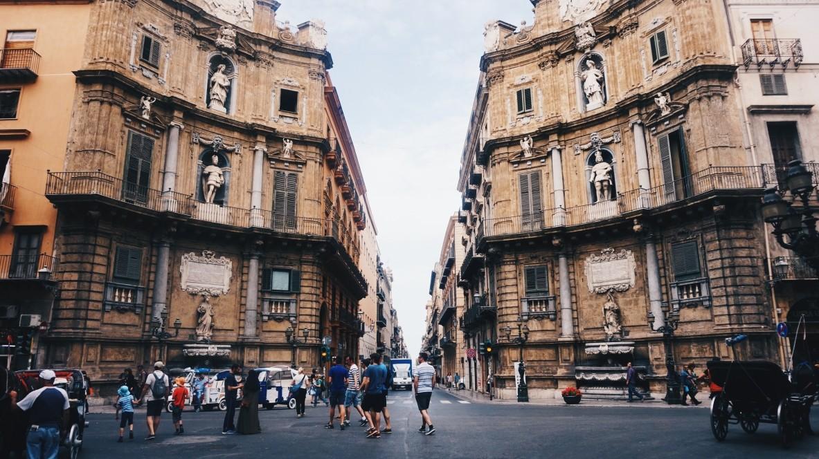 Przewodnik po Palermo - jedzenie, street-art