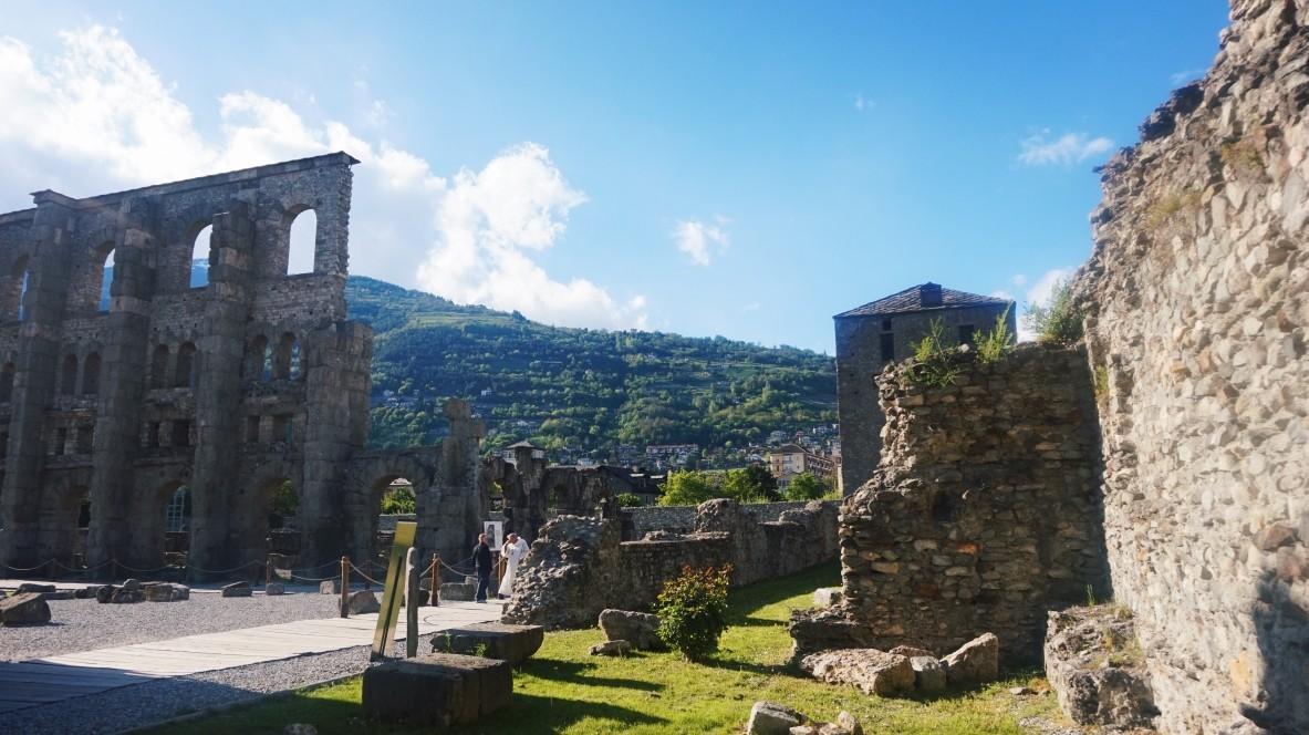 Aosta - mały Rzym