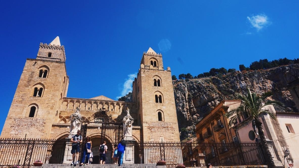 Katedra w Cefalu na Sycylii
