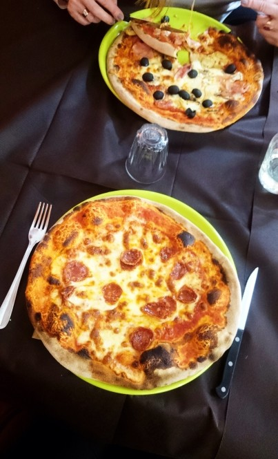 Pizza in Moderna in Aosta
