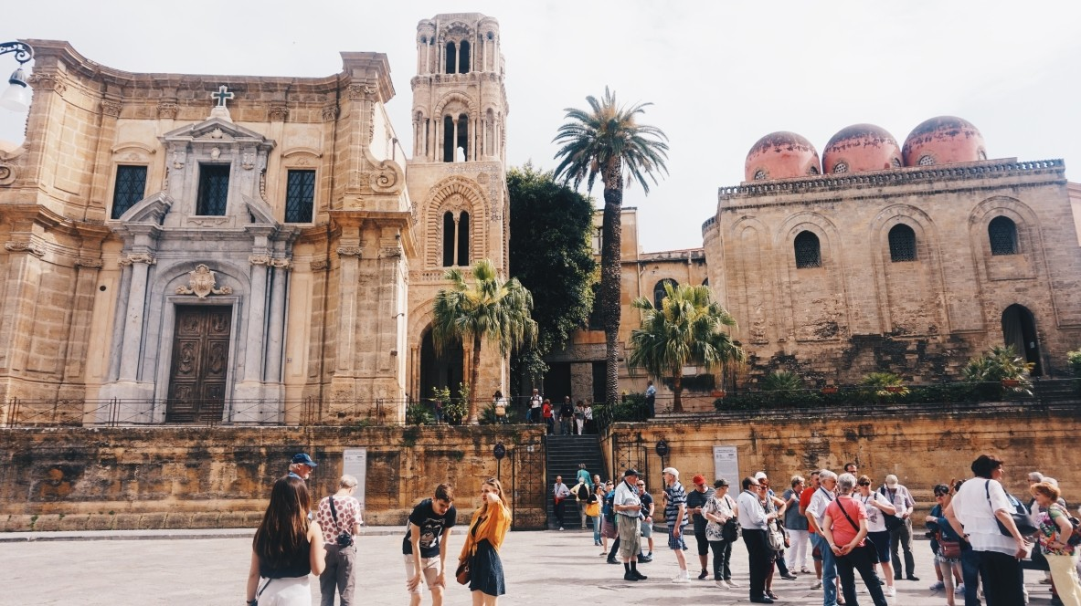 Kościół San Cataldo i La Martorana w Palermo