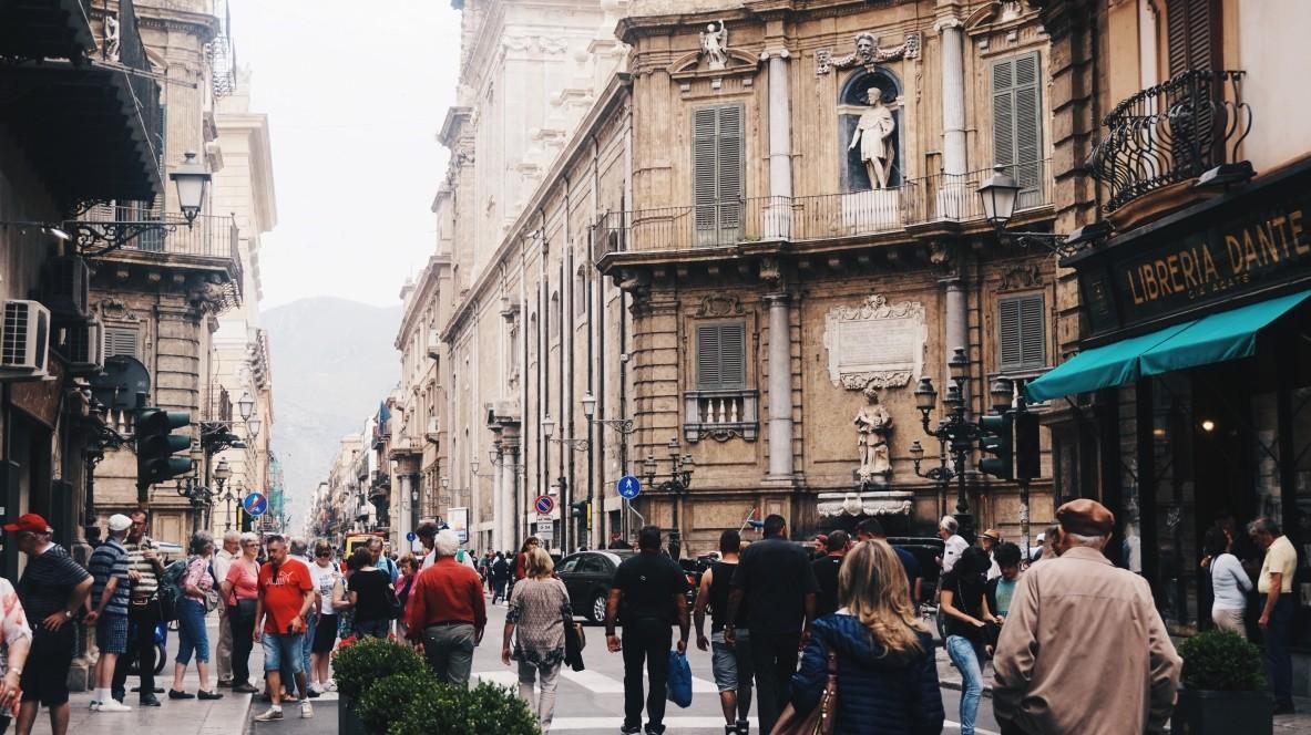 Centrum w Palermo
